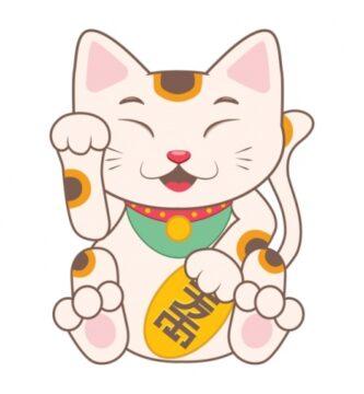 Los 5 mejores amuletos de la suerte, el gato chino