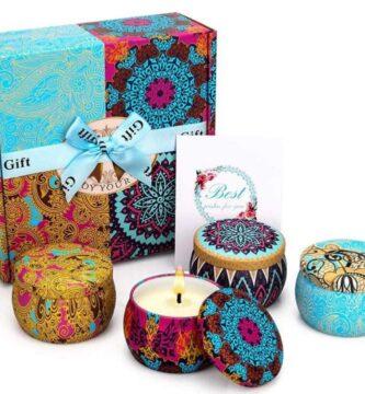 Velas de la Suerte Perfumadas Juego de 4 Piezas Vela Aromática